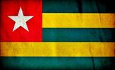 Bandiera grunge Togo — Foto Stock