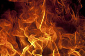 Fire flame texture — Stock Photo