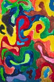 Image of multicolored painting — Stock Photo