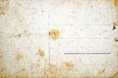 Vända sidan av Tom grunge vykort — Stockfoto