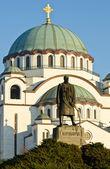 Sankt sava-katedralen — Stockfoto
