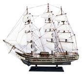 Ship model isolated on white background — Stock Photo