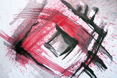 Abstract original watercolor background — Stock Photo