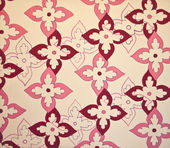 Seamless floral pattern background — Stock Photo