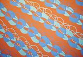 カラフルな抽象的な塗られた背景パターン — ストック写真
