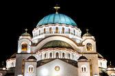 Aziz sava tapınağı belgrad sırbistan hdr — Stok fotoğraf