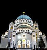 Saint Sava temple in HDR — Stock Photo