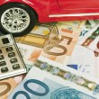 Stock Photo: Car expenses - concept