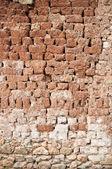 Mud brick wall — Stock Photo