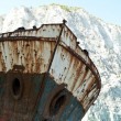 Famous shipwreck at Navagio beach - Zakynthos Greece — Stock Photo #8701834