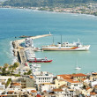 Zante town port - Stock Photo