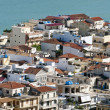 View on Zante town - Zakytnhos Greece - Stock Photo