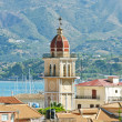 View at Zante church - Zakynthos Greece - Stock Photo