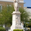 "Greece IoniIslands Zante or ""Zakynthos"" Statue of Dionysios — Stock Photo #8702876"