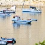 Porto Vromi port - Zakynthos Greece — Stock Photo