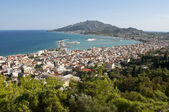 View at town of Zakynthos - Greece — Stock Photo