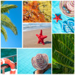 Royalty-Free Stock Photo: Sea collage
