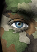 Portrait de soldat — Photo