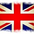 Stock Photo: Great Britain grunge flag
