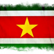 Suriname grunge flag — Stock Photo