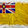Niue grunge flag — Stock Photo #8975386