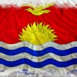 Kiribati grunge flag - Stock Photo