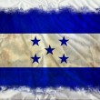 Stock Photo: Honduras grunge flag