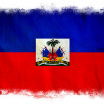 Haiti grunge flag — Stock Photo