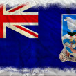 Falkland islands grunge flag — Stock Photo #8976372