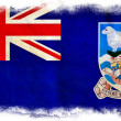 Falkland islands grunge flag — Stock Photo