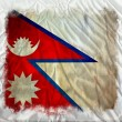 Nepal grunge flag — Stock Photo #8978028