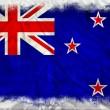 New Zealand grunge flag — Stock Photo #8978810
