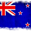 New Zealand grunge flag — Stock Photo