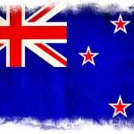 New Zealand grunge flag — Stock Photo #8978818
