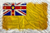 Niue grunge flag — Stock Photo