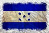 Bandera de honduras grunge — Foto de Stock