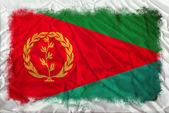 Eritrea grunge flag — Stock Photo