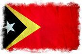 East Timor grunge flag — Stock Photo