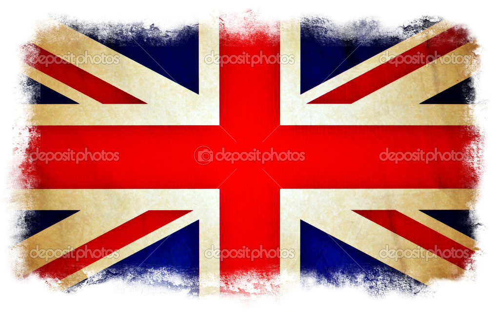 Great Britain grunge flag — Stock Photo #8974615