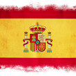 Spain grunge flag — Stock Photo