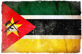 Mozambique grunge flag — Stock Photo