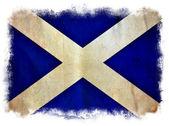 Scotland grunge flag — Stock Photo