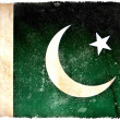 Pakistan grunge flag — Stock Photo #9080016