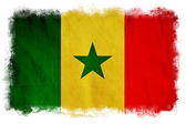 Senegal grunge flag — Stock Photo