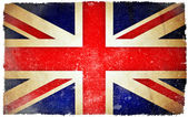 Great Britain grunge flag — Stock Photo