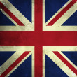Royalty-Free Stock Photo: Grunge flag of Great Britain