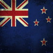 Royalty-Free Stock Photo: Grunge flag of New Zealand