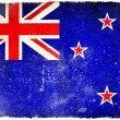 New Zealand grunge flag — Stock Photo #9186340