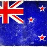 New Zealand grunge flag — Stock Photo #9186340