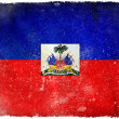 Haiti grunge flag — Stock Photo